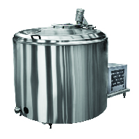 Milk cooling tanks