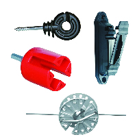 Parts of electric fence systems