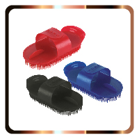Plastic currycombs