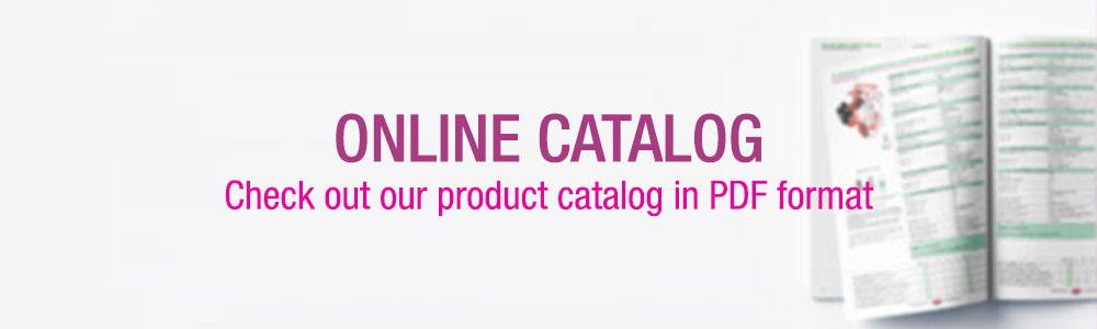 Check out our product catalog in PDF format